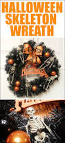 Halloween Door Wreath by Spooktacular Halloween Wreath How To Nest For Less
