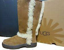 ugg womens emerson boots chestnut emerson tassel ankle boots taupe 10 us display ebay