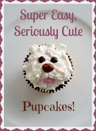 Dog Themed Home Decor Super Easy Seriously Cute Dog Cupcakes Dog Cupcakes Super Easy