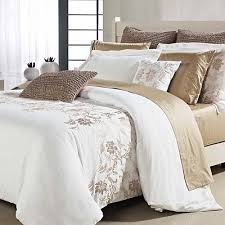 Taupe Duvet Embroidered Duvet Collection On Ebay