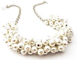 chunky necklace pearl images Best 25 wedding pearl necklaces ideas pearl jpg
