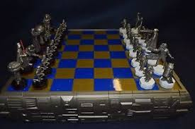star wars chess sets danbury mint star wars chess set rare ebay