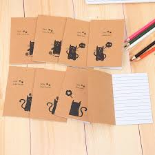 pattern play notebooks 40pc lot retro books kraft students cute soft copy small notebook