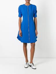 sportmax sale online sportmax villa dress 004 bluette women