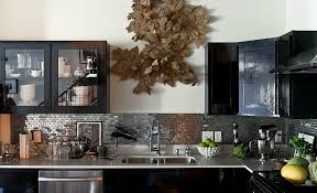 modern kitchen cabinets metal sparkling trend 25 gorgeous kitchens with a bright metallic