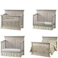 Baby Convertible Cribs Furniture Baby Cache Vienna 4 In 1 Convertible Crib Ash Gray Babies R Us