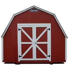 Red Barn Door by Barns And Barn Style Sheds Leonard Buildings U0026 Truck Accessories