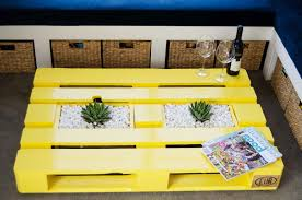 yellow wood coffee table how to make my own pallet coffee table 18 inspiring diy coffee tables