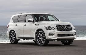 compare infiniti qx56 and lexus lx 570 2017 infiniti qx80 features review the car connection