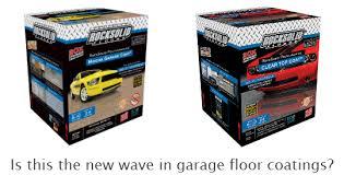 reviewing rocksolid s polycuramine garage floor coating all