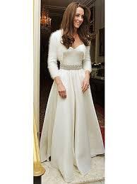 wedding dresses second wedding kate middleton s second wedding dress also mcqueen