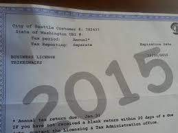 Washington travel loans images Seattle washington business license renewal business license jpg