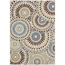 Safavieh Outdoor Rug Safavieh Veranda Blue 6 Ft 7 In X 9 Ft 6 In Indoor