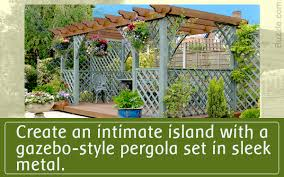 a guide for buying a pergola to create private coves in your garden