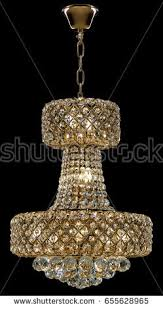 Bling Large Chandelier Bedroominterior Stock Images Royalty Free Images U0026 Vectors