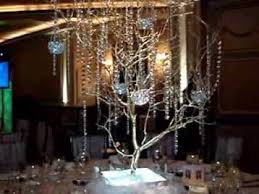 wedding centerpiece rentals nj manzanita branch tree centerpiece rentals in gold at vip