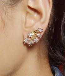 ear cuff online much more ethnic traditional design gold plated cz fashion