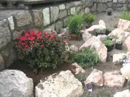 giardini rocciosi in ombra creazione giardino roccioso