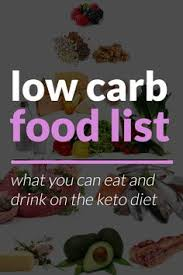 low carb food list u2013 what you can eat u0026 drink on keto low carb