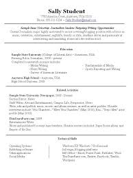 resume for part time job for student in australia resume sle for part time job of student best resume collection