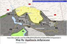 Isis Syria Map by Isis Advances And The Kurds Retreat In Northern Syria Geocurrents