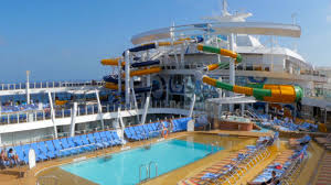 Royal Caribbean Harmony Of The Seas by A Perfect Storm Of Twists And Turns Guests Plunge Into A Water