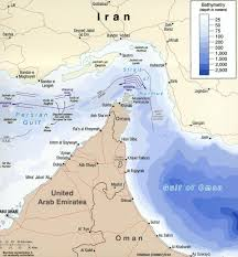 Gulf Of Mexico Depth Map by Hormuz Straits Come Into Focus As Gulf Tension Mounts Defense