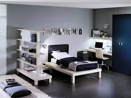 astonishing guys bedroom ideas with white wooden floating
