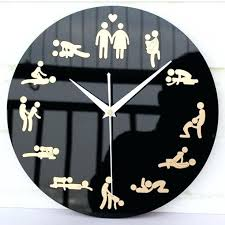 cool wall clock cool wall clocks wall clock unique a barbell wall clock hung on the