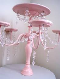 chandelier cupcake stand chandelier cake and cupcake stand in baby pink