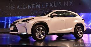 lexus suv malaysia lexus nx launched in malaysia from rm299k rm385k