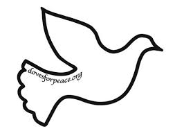 coloring page simple dove drawing simple dove line drawing