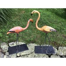 464 best flamingo figurines images on flamingos pink