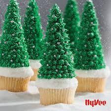 winter tree cupcakes hy vee