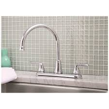 premier kitchen faucet premier 126965 waterfront kitchen faucet with two handles chrome