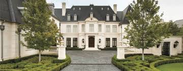 neoclassical homes a neoclassical style residence in dallas features