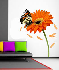 impression wall flower pvc wall stickers buy impression wall impression wall flower pvc wall stickers