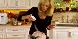 sandra lee thanksgiving tablescapes how not to to cook a thanksgiving turkey with sandra lee video