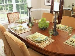 brilliant dining room table settings h13 for your home designing