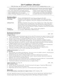 Resume For It Support It Support Technician Resume Free Resume Example And Writing