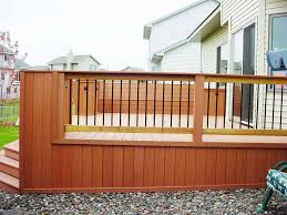 Backyard Deck Plans Pictures by Deck Design Patio Deck Railing Designs The Metal Deck Railing