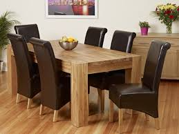 sedie per sala da pranzo elegante tavolo da pranzo imposta sedie sala da pranzo in pelle