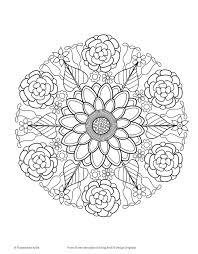 amazon flower mandalas coloring book coloring fun