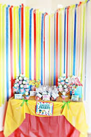 Carnival Themed Table Decorations Popcorn Centerpiece For Carnival Theme Party By Dezign Shop