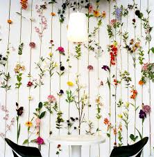 fascinating hanging flower decor will bring freshness into your