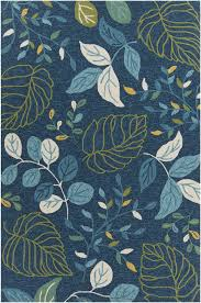 Area Rugs Blue Terra Collection Tufted Area Rug In Blue Green
