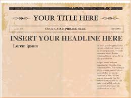 6 newspaper template word teknoswitch