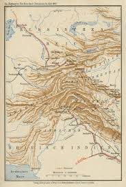 Map Of Central Asia Central Asia East Asia The Gunnar Jarring Central Eurasia