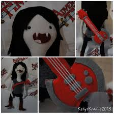 adventure time marceline stuffed animal with ax bass adventure