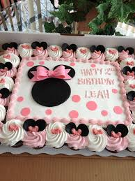 Pink And Black Minnie Mouse Decorations Party Ideas Ph Minnie Mouse Birthday Cakes 12 For Molly